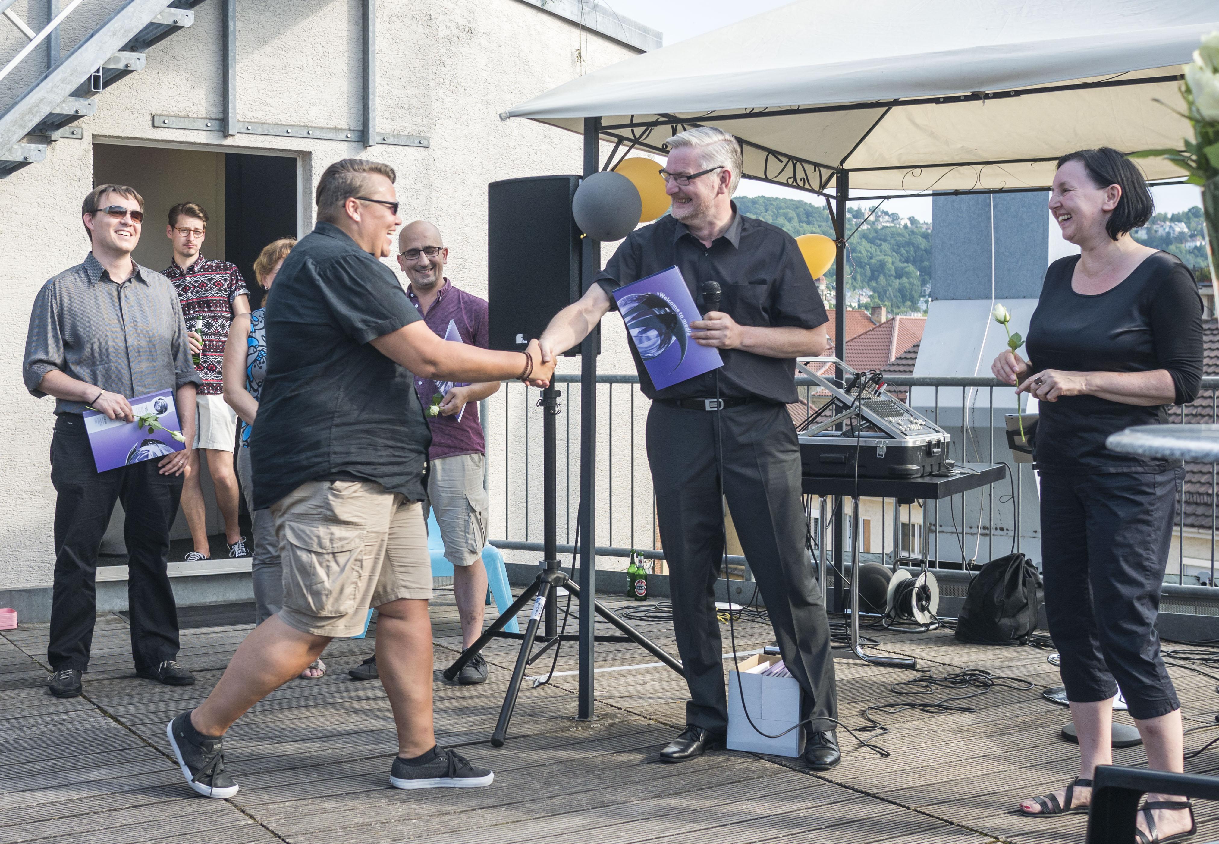 Auszeichnungen beim Sommerfest 2017_ Technisches Produktidesign