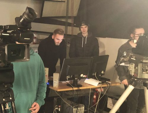 Übungsstunde Live-Aufnahmen bei Bild und Ton