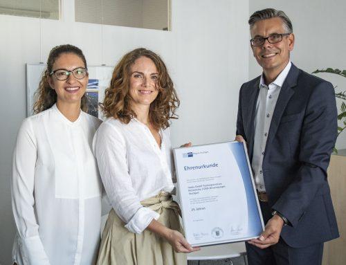 IHK – Region Stuttgart gratuliert zum 25-jährigen Jubiläum